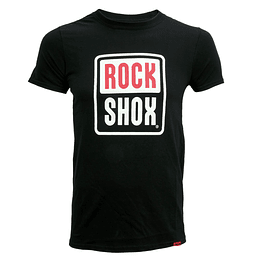 POLERA ROCK SHOX FULL PILL NEGRA