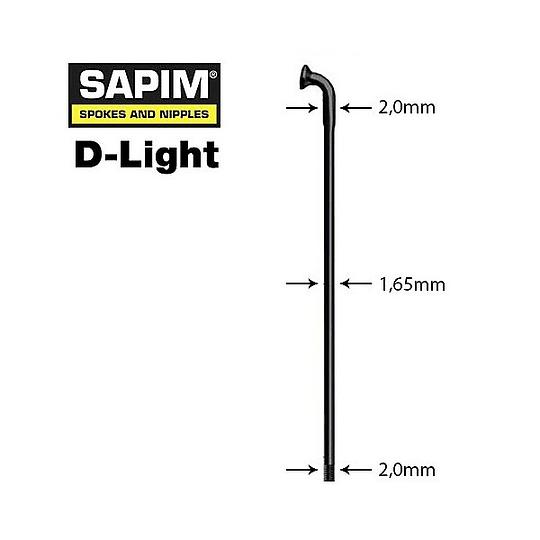 SAPIM RAYO D-LIGHT NEGRO