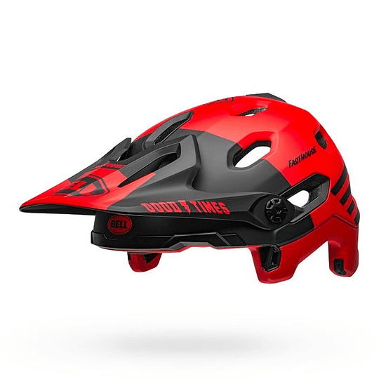 Casco Bell Super Dh Mips - Flex Spherical Fasthouse Red/Black