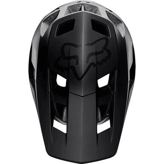 Casco Bicicleta Dropframe Pro Negro 2020 Fox