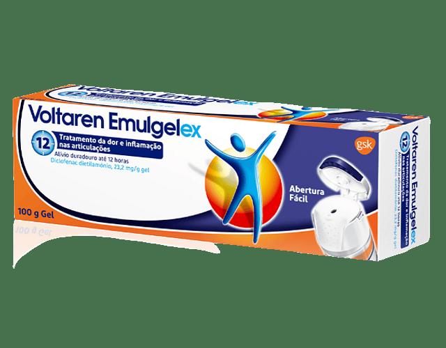 Voltaren Emulgelex , 23.2 mg/g Bisnaga 100 g Gel