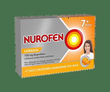 Nurofen, 100 mg x 24 cáps mole p/mastigar
