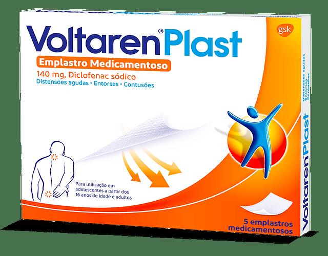 Voltaren Plast, 140 mg x 5 emplastro