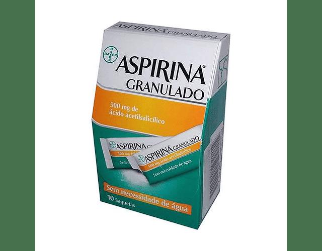 Aspirina 500 mg Granulado - 10 Saquetas