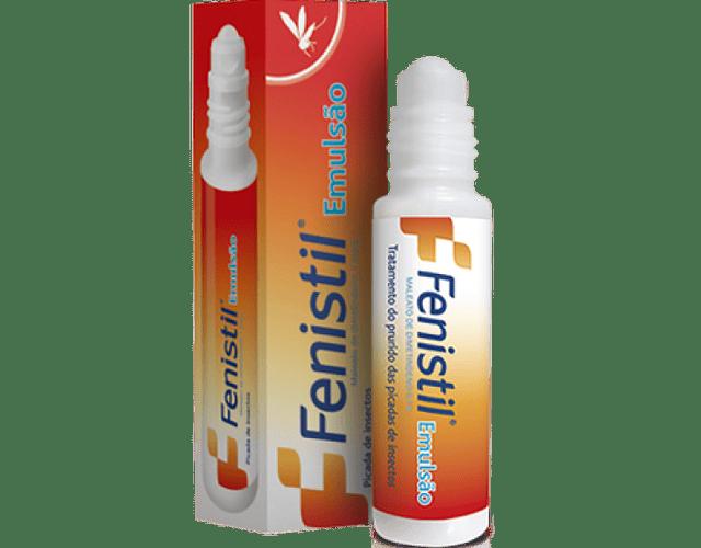 Fenistil Emulsão, 1 mg/g-8 mL x 1 emul frasco