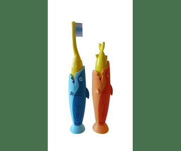 Elgydium Kids Escova de Dentes - Tubarão