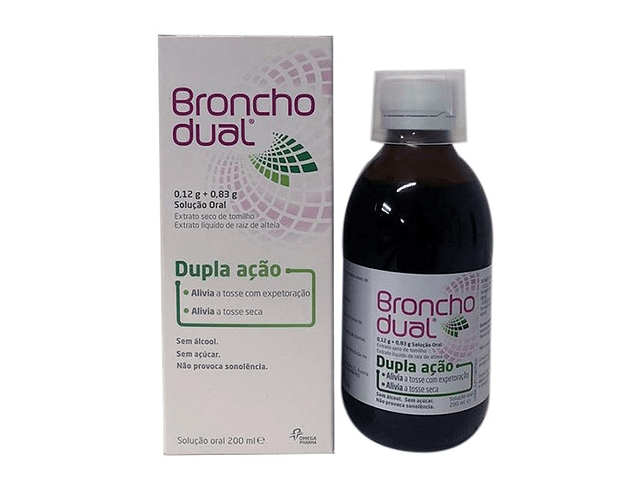 Bronchodual (200mL), 0,12/0,83g/15mL x 1 sol oral frasco