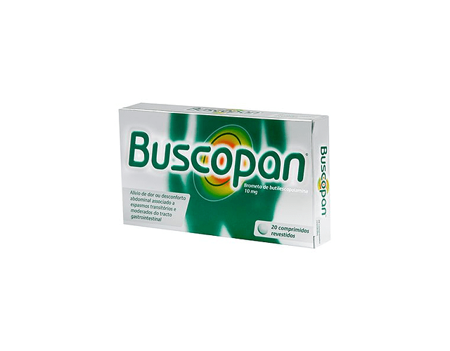 Buscopan, 10 mg x 20 comp rev