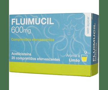 Fluimucil, 600 mg x 20 comp eferv