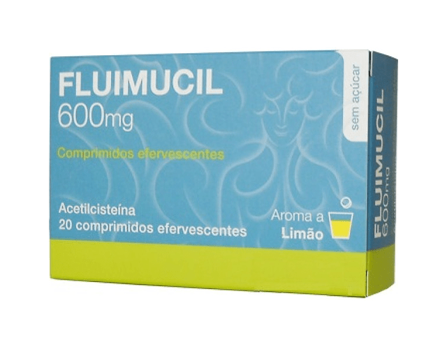 Fluimucil, 600 mg x 20 comp eferv