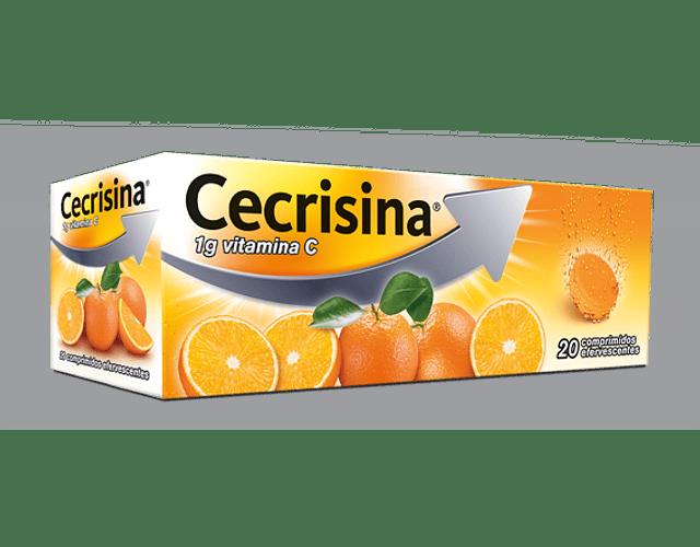 Cecrisina, 1000 mg x 20 comp efervescentes