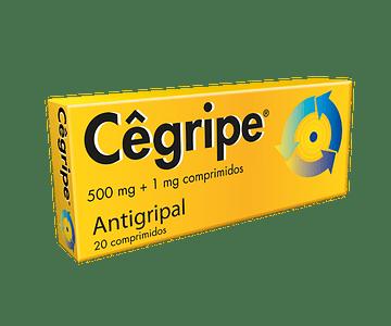 Cêgripe, 1/500 mg x 20 comp