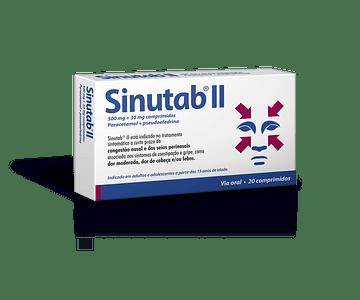 Sinutab II, 500/30 mg x 20 comp