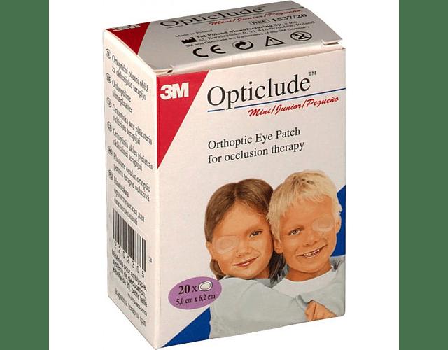 Opticlude Pensos Oftálmicos 20 Unidades