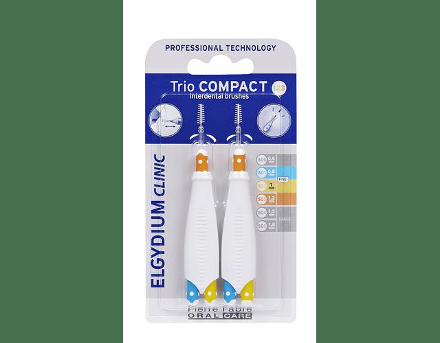Elgydium Clinic TrioCompact Mistos Estreitos - 2 Unidades
