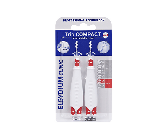 Elgydium Clinic TrioCompact Largos - 2 Unidades