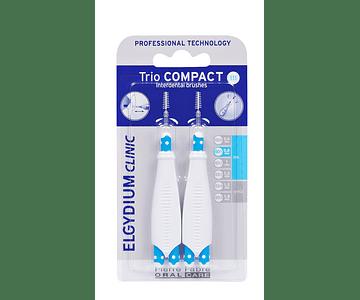 Elgydium Clinic TrioCompact Estreitos - 2 Unidades