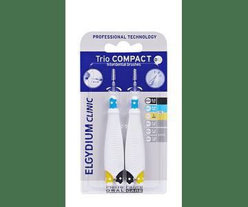 Elgydium Clinic TrioCompact Muito Estreitos Mistos - 2 Unidades