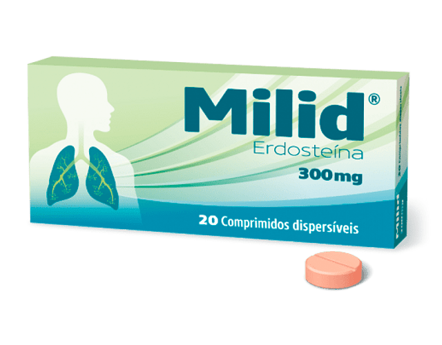Milid, 300 mg x 20 comp disp