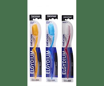 Elgydium Creation Neon Escova Dentes Média - Cor Sortida