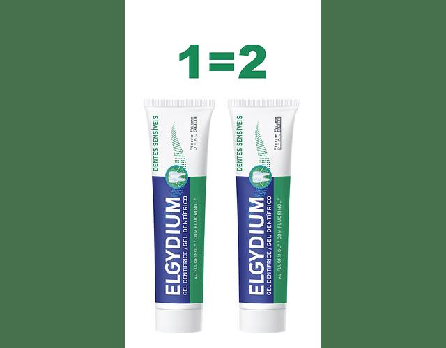 Elgydium Pack Pasta Dentífrica Dentes Sensíveis 75ml (1=2)
