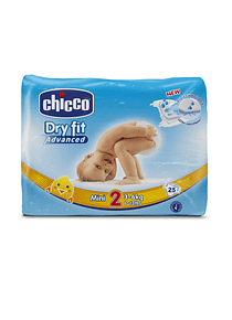 Chicco Fraldas Dry Fit Advanced T2 3-6kg