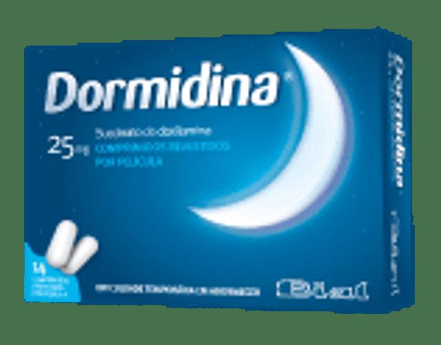 Dormidina, 25 mg x 14 comp rev