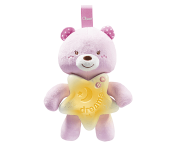 Chicco Painel Ursinho Boa Noite Rosa