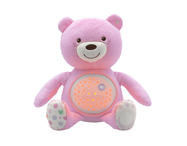 Chicco Ursinho Boa Noite Rosa