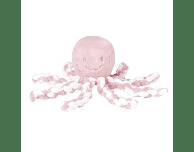 Nattou Lapidou Polvo Rosa Claro