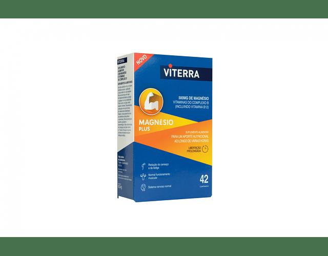 Viterra Magnésio Plus Comprimidos, Blister 42Unidade(s)