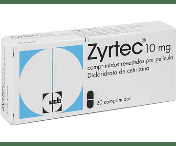 Zyrtec, 10 mg x 20 comp rev