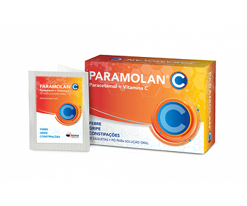 Paramolan C, 500/250 mg x 20 pó sol oral saq