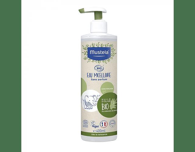 Mustela Bio Água de Limpeza Sem Perfume 400 mL