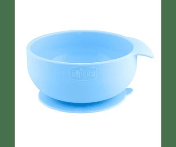Chicco Tigela Silicone Azul