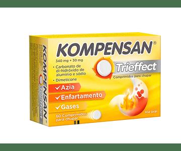 Kompensan Trieffect, 340/30 mg x 60 comprimidos para chupar