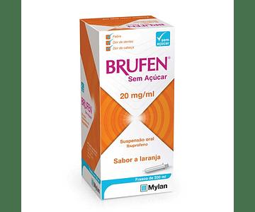 Brufen Sem Açúcar 20 mg/mL Suspensão Oral 200 mL