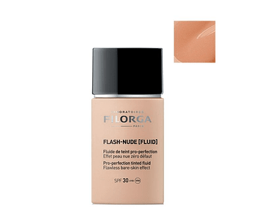 Filorga Flash Nude Fluido de Cor Pró Perfeição Cor 02 Beige 30 mL