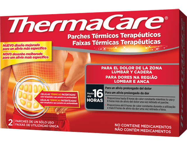 Thermacare Faixa Termica Lombar Anca x2
