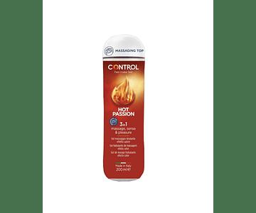 Control Hot Passion Gel de Massagem 3 em 1