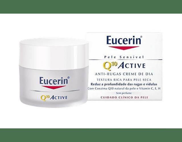 Eucerin Q10 Creme Anti-Rugas Pele Seca 50 mL