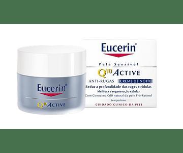 Eucerin Q10 Creme Anti-rugas Noite 50 mL