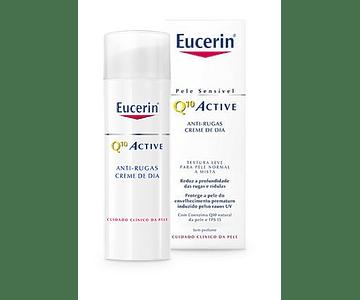 Eucerin Q10 Creme Anti-Rugas Pele Normal a Mista 50ml