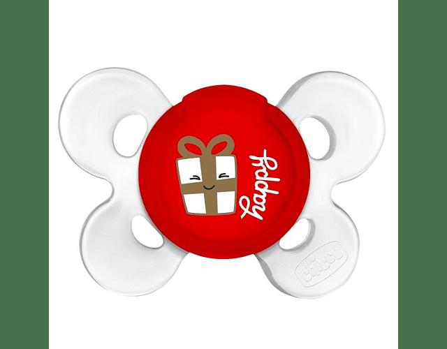 Chicco Physio Comfort Chupeta Edição De Natal 12M+ 1unid.