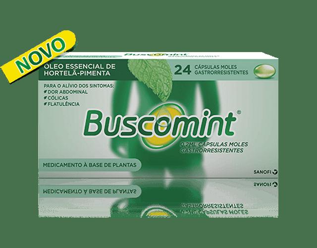 Buscomint 0,2mL x 24 cápsulas moles gastrorresistentes