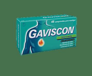 Gaviscon 250/133,5/80 mg x 48 comprimidos para mastigar