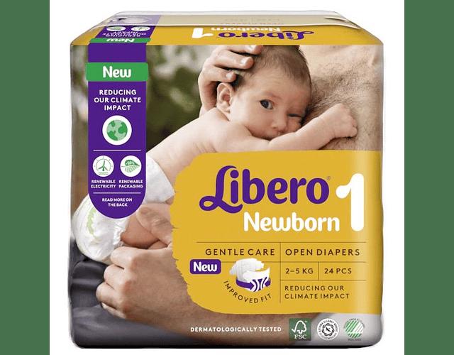 Libero Fralda Newborn (T1) x 4      (5.60/pacote)