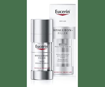 Eucerin Hyaluron-Filler Peeling & Sérum Noite 30 mL
