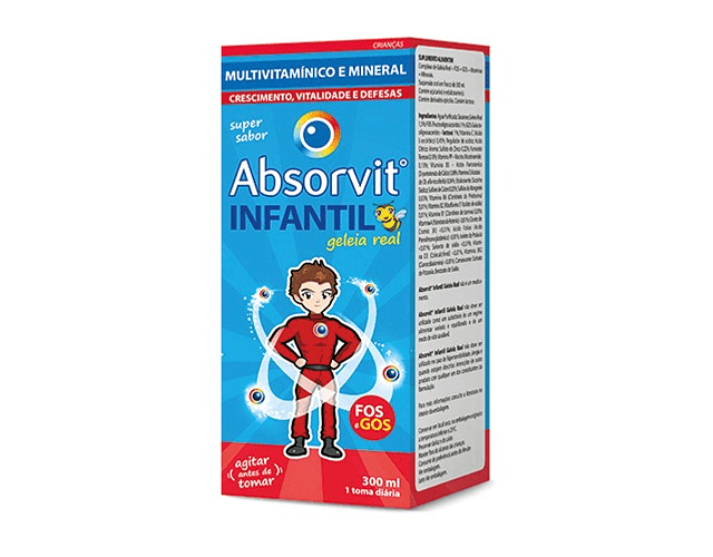 Absorvit Infantil Geleia Real 300 mL