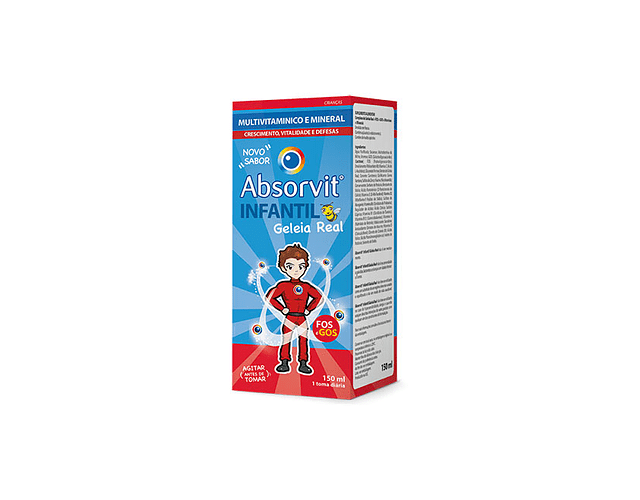 Absorvit Infantil Geleia Real 150 mL